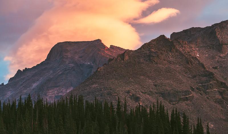 Wild Basin Sunrise - July