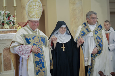 Enthronement of Mother Abbess