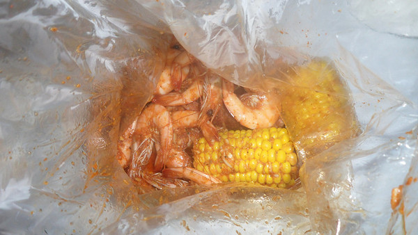 Boiling Crab with Muzies.