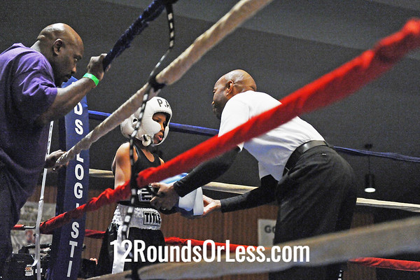 Bout 7 Romeo Rodriguez, Cleveland -vs- Ali Abu-Gauman, Youngstown