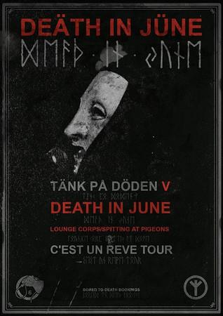 Death In June The Liffey 14-15/11 2013