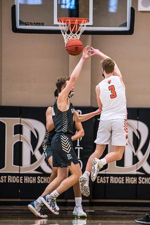 WBL Boys Varsity Basketball Playoff -V- East Ridge 2021