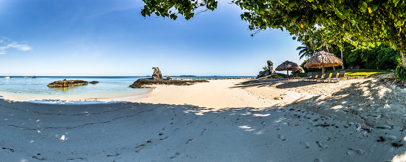 Hammok at the Beach of Castaway Island - Mamanuca Archipelago - Fiji