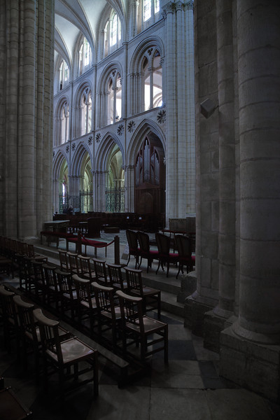 Caen Abbaye-aux-Hommes - Nave Elevation