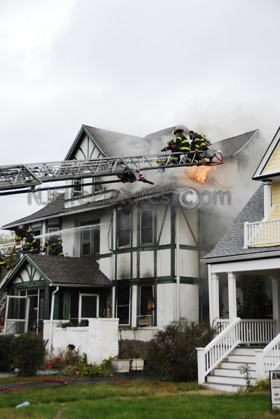 Montclair, NJ 3rd Alarm 198 Walnut St. November 1, 2007