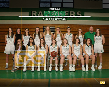 Regis girls basketball GBB1920