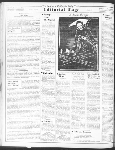 Daily Trojan, Vol. 28, No. 95, March 10, 1937