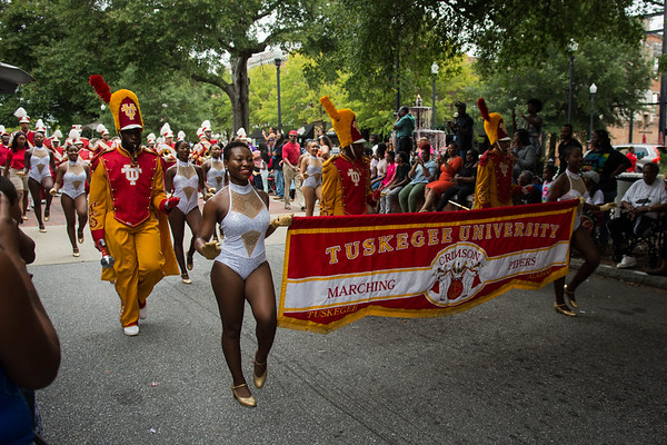 Tuskegee - Morehouse Parade 10/07/2017