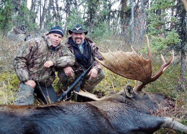 yukon 2013 moose hunt video