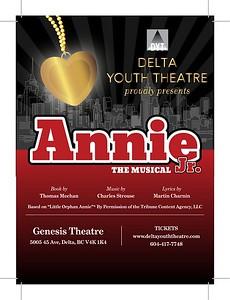 Delta Youth Theatre Annie 2017