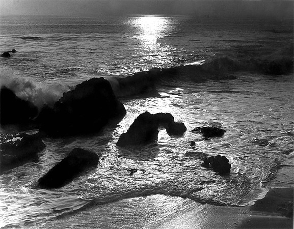 Sunset, Laguna Beach.<br /> Captured, Forty Years Ago.<br /> Better Days and Times ...<br /> <br /> Laguna Beach, California