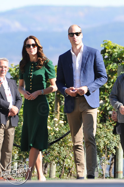 Royals In Ray-Bans! Kate Middleton & Prince William Wear Matching Wayfarer Sunglasses
