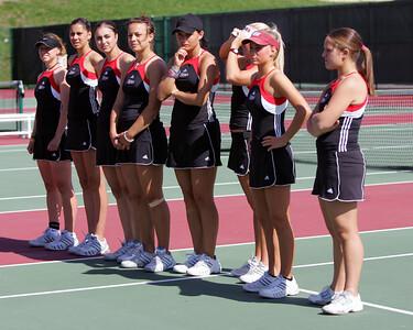 University of Massachusetts Women's NCAA Tennis 2005