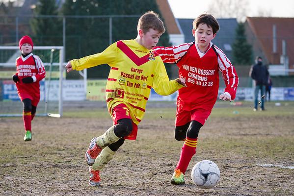 18/01/2014: Bottelare B - FC Edeboys