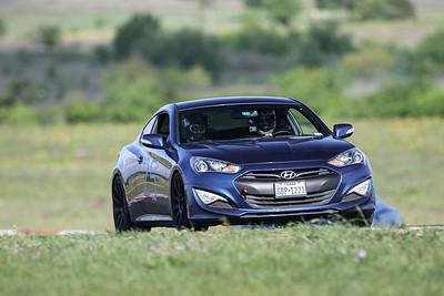 25 Blue Hyundai Genesis