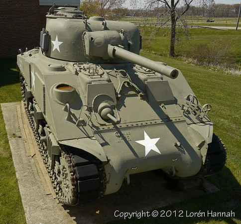 OHANG Armory - Highland Hills, OH - M4A3(75)