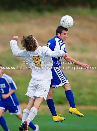 10/25/2010 - Boys Varsity Soccer - Braintree vs Needham