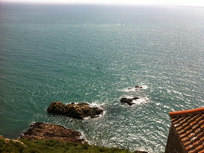 Taken from the top of Gorey Castle - Jersey. (iPhone Pic)
