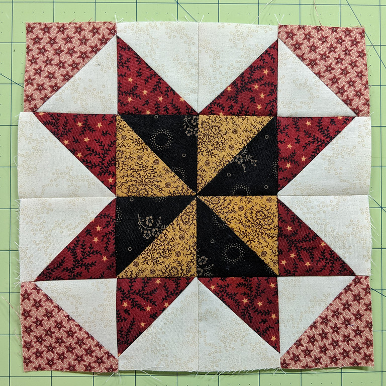 Barbara Frietchie Star, completed July 14, 2018