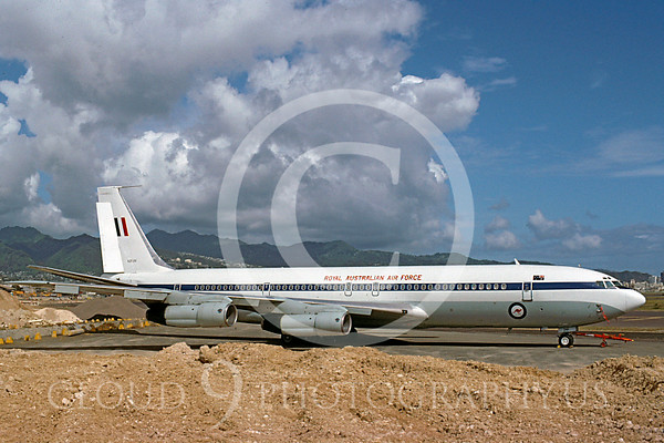 Australian Air Force Boeing C-135 Transport Airplane Pictures for Sale