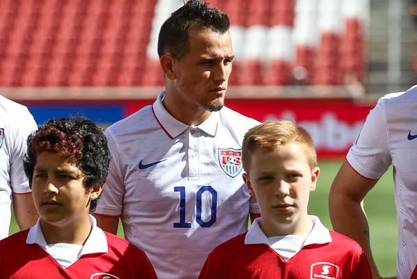 U23 OLY Qual Semi Final USA v Honduras  10-10-2015