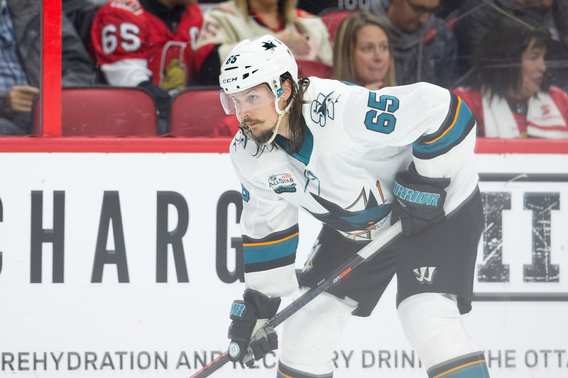 NHL 2018: Sharks vs Senators  DEC 01