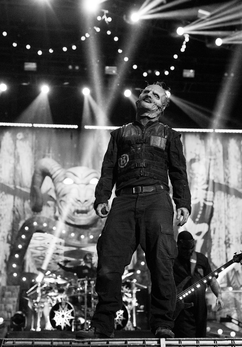 Corey Taylor of Slipknot by Adam Elmakias