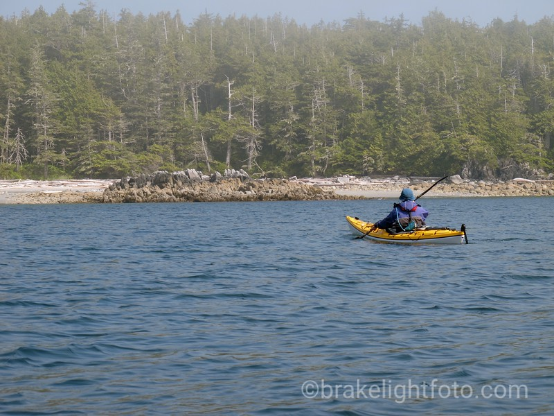 Approaching Beach on Southwest tip of Athlone Island