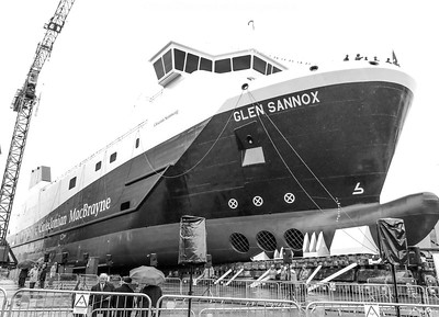 First Minister of Scotland launches UKs First LNG Ferry