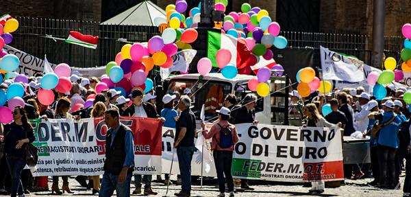 noi prefessionisti demonstration 13 may 2017