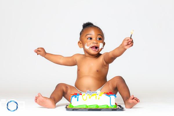 Happy 1st Birthday Dayi'Lin