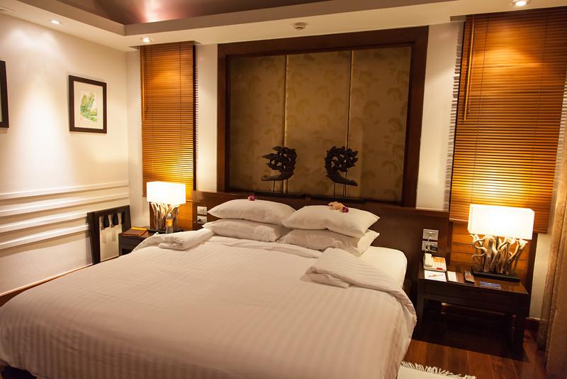 Bedroom at the Ayara Hilltops Boutique Resort & Spa.