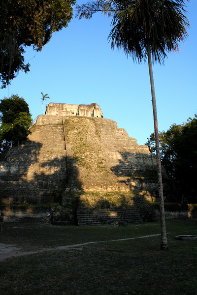 i watched the sun go down from the top of this pyramid.. yaxha, guatemala