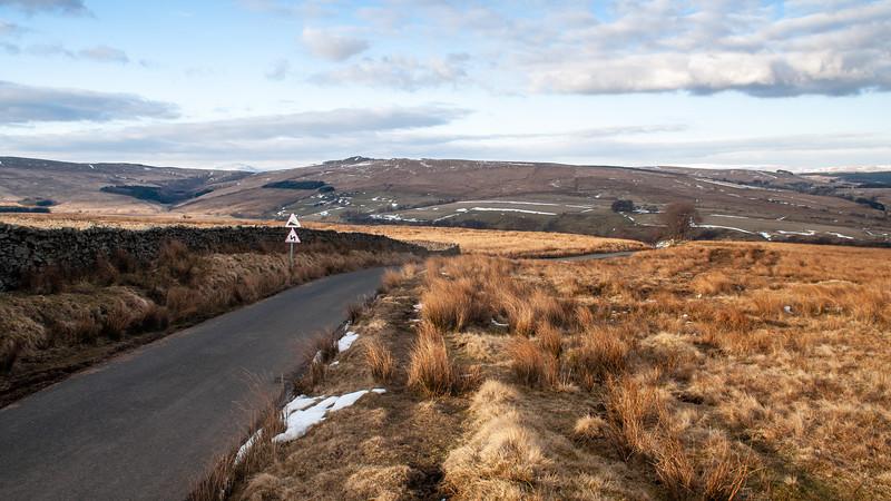 Lane through Bowland