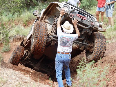 Jeep Trip - Candian River 8/13/2005