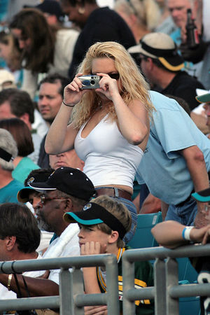Jaguars vs. Ravens, Nov. 13, 2005:  Fans in the Stands