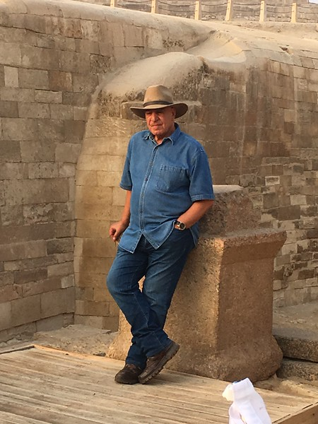 Zahi Hawass world famous archaeologist, who made our trip so special