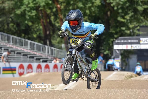BMX Worlds 2019 - Practise BEL - NZ