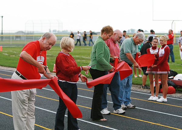 SNHS Football vs Pioneer - New Track Opening 2008