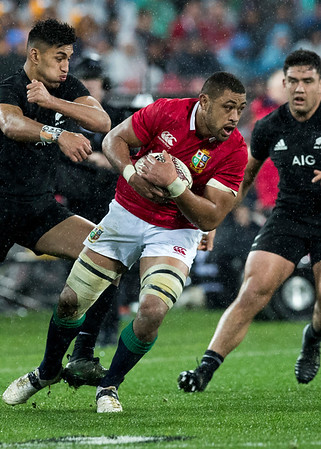 Taulupe Faletau during game 9 of the British and Irish Lions 2017 Tour of New Zealand, the second Test match between  The All Blacks and British and Irish Lions, Westpac Stadium, Wellington, Saturday 1st July 2017 (Photo by Kevin Booth Steve Haag Sports)  Images for social media must have consent from Steve Haag