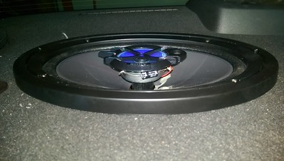 2011 Chevy Cruze Rear Deck Speaker Installation
