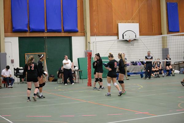 Varsity Winter Volleyball vs Princeton Day