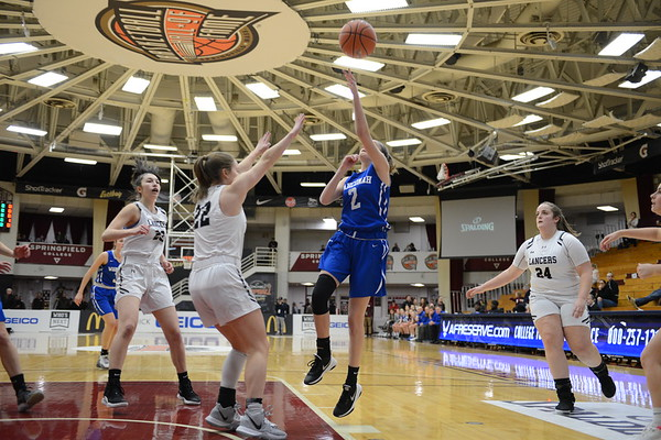 Wahconah girls basketball vs Longmeadow