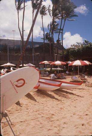 1996 Outrigger Canoe Club Beach