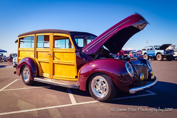 Newport Beach El Classic Car Show - 10/20/2018