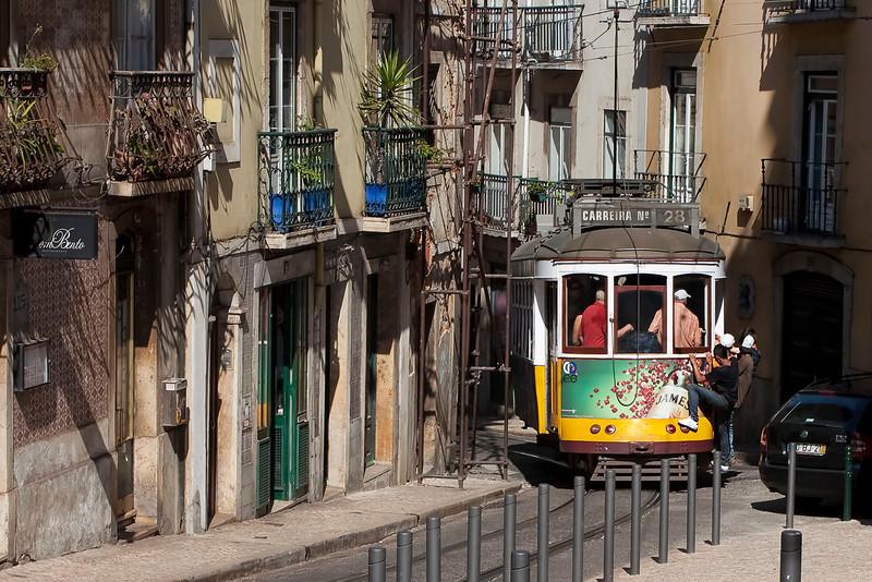 "Lisbon, famous ""Electrico"" No 28, September 2011"