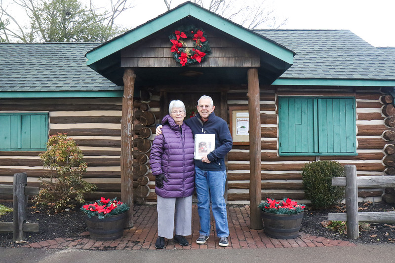 Richard Morris and his wife, Sharon at the Bennett Cabin in Point Pleasant Boro, NJ on 1/9/19.
