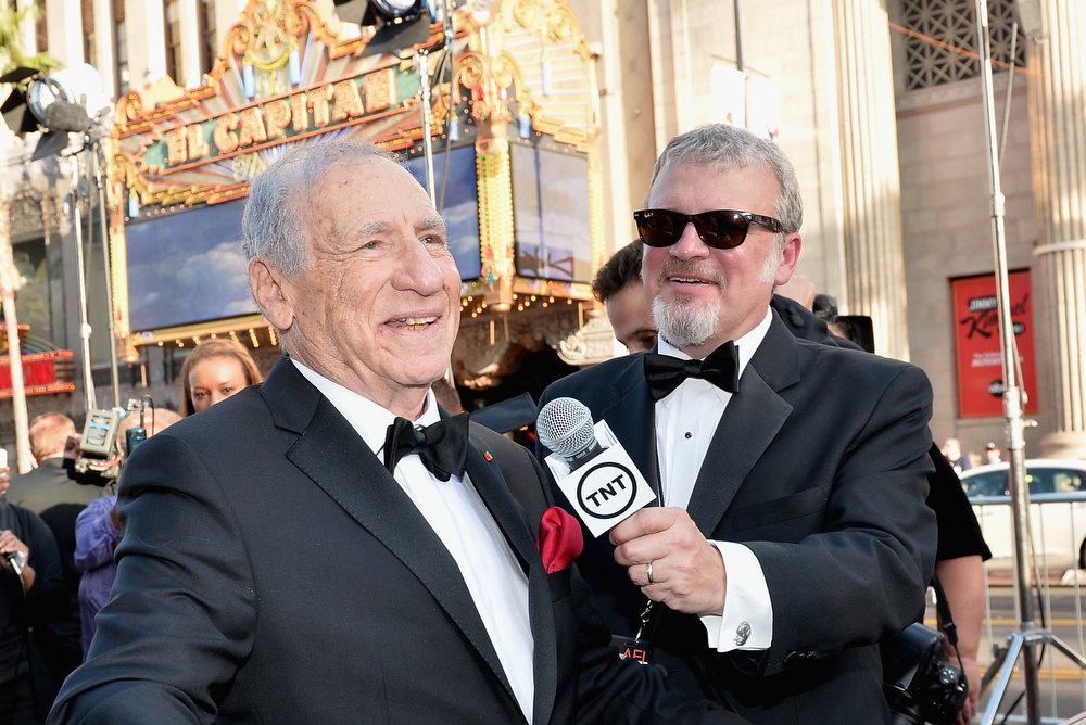 . Honoree Mel Brooks attends 41st AFI Life Achievement Award Honoring Mel Brooks at Dolby Theatre on June 6, 2013 in Hollywood, California. Special Broadcast will air Saturday, June 15 at 9:00 P.M. ET/PT on TNT and Wednesday, July 24 on TCM as part of an All-Night Tribute to Brooks.  (Photo by Alberto E. Rodriguez/Getty Images for AFI)