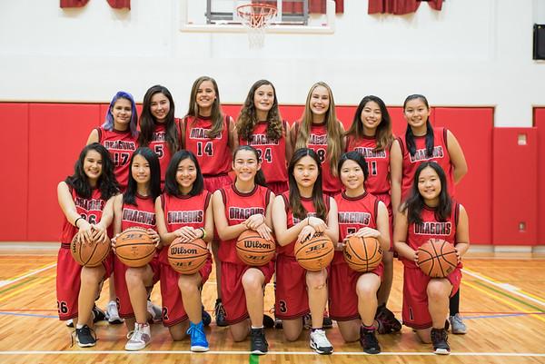 2016-17 JV Girls Basketball