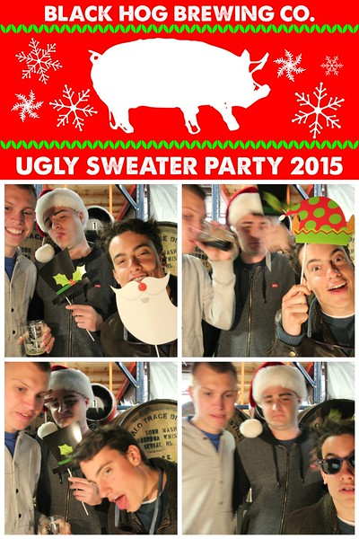 Black Hog Brewing Co Ugly Sweater Party